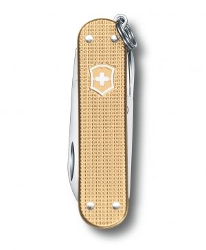 Нож Victorinox Classic, Alox Limited Edition 2019, champagne gold